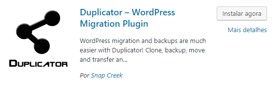 Tutorial Duplicator - Como colocar site online WordPress