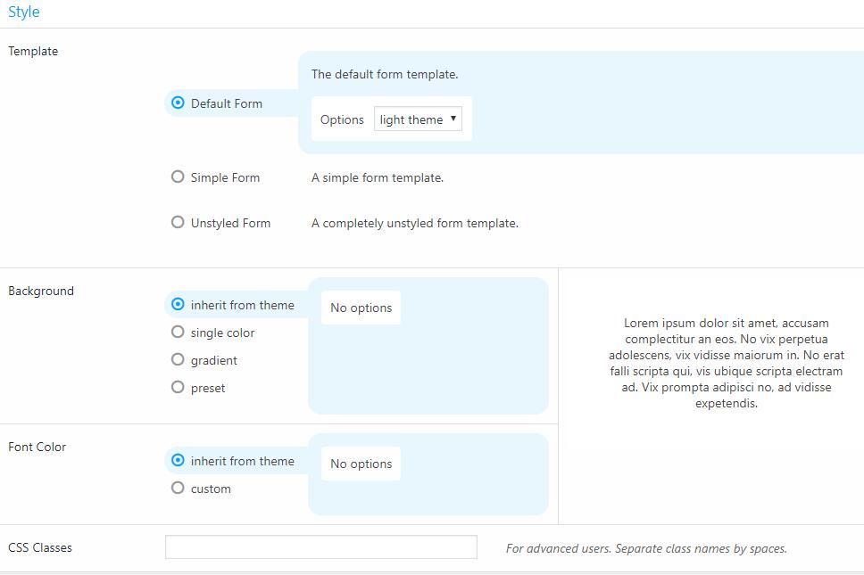 Estilos básicos para o formulário de depoimento