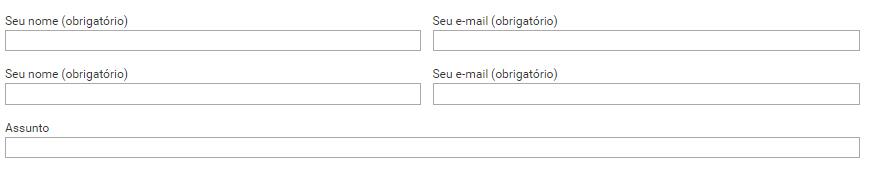 Como deixar Contact Form 7 em duas colunas WordPress